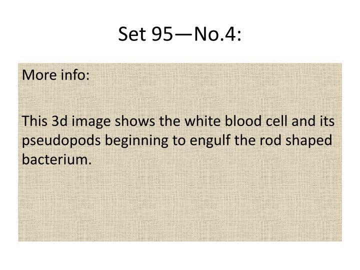 Set 95—No.4: