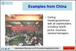 examples from china