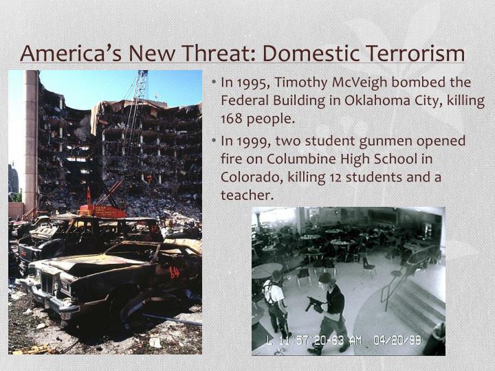 America's New Threat: Domestic Terrorism