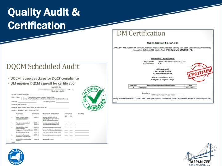 Quality Audit & Certification