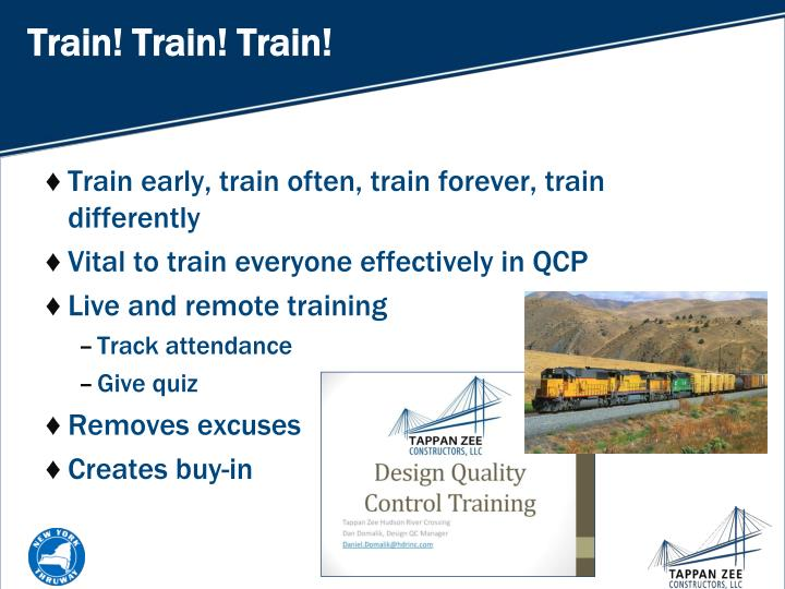 Train! Train! Train!