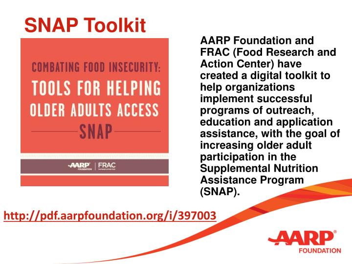 SNAP Toolkit