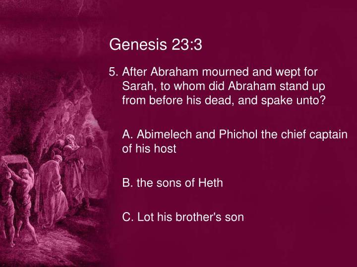 Genesis 23:3