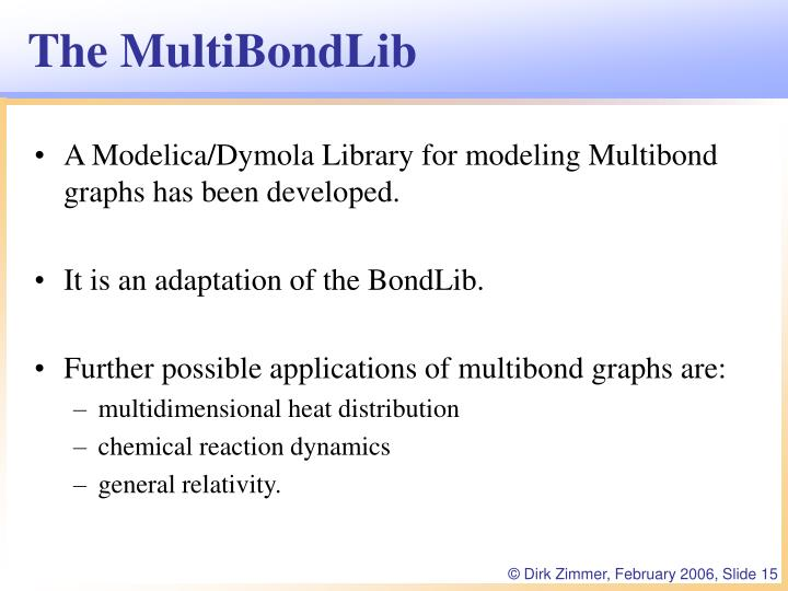 The MultiBondLib
