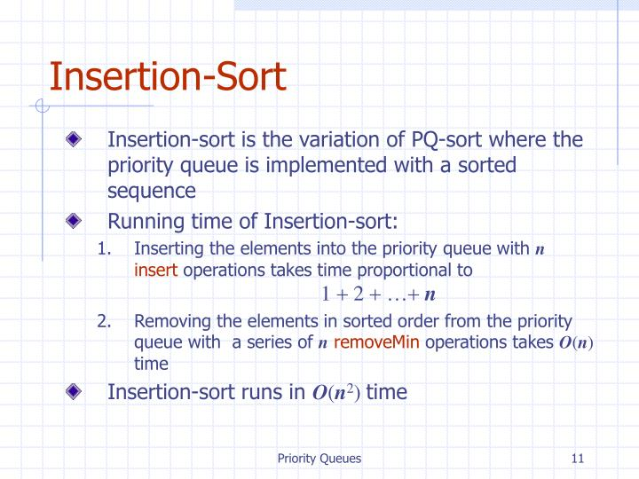 Insertion-Sort