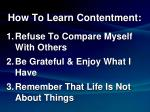 how to learn contentment3