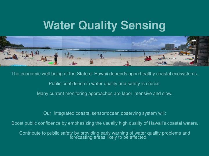 Water Quality Sensing