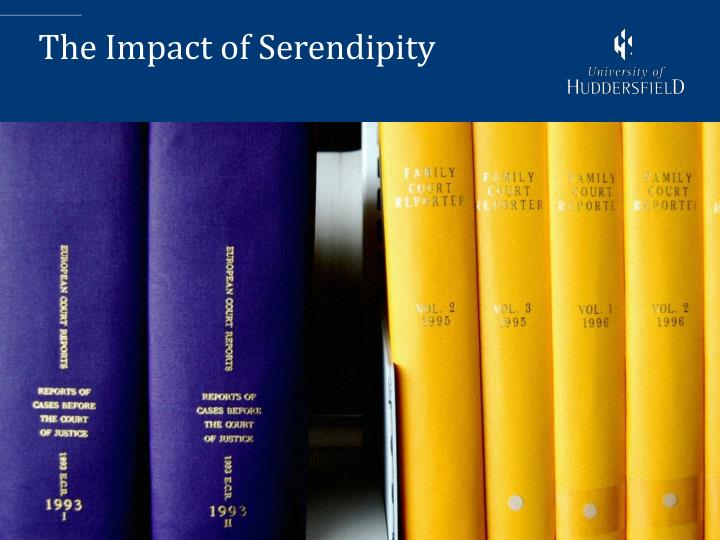 The Impact of Serendipity