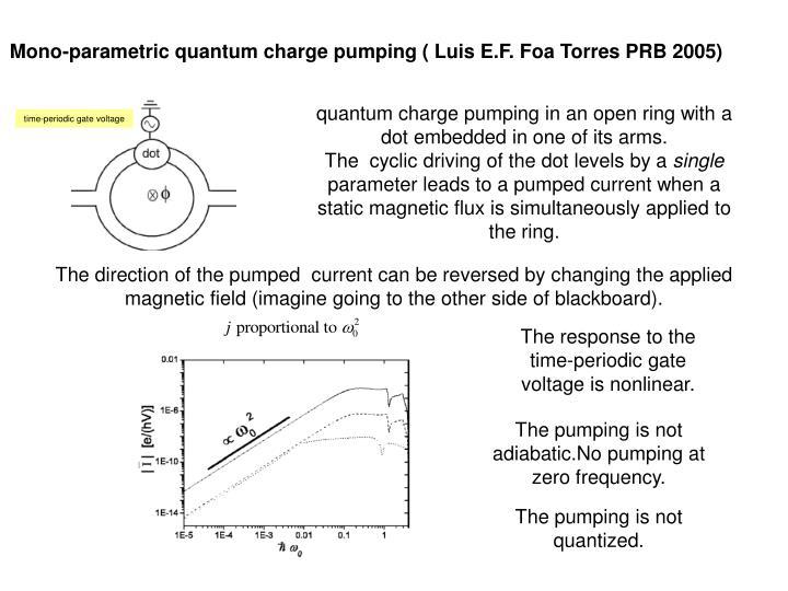 time-periodic gate voltage