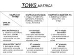 tows matrica
