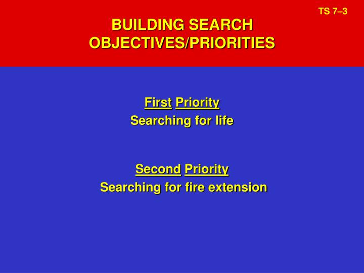 BUILDING SEARCH