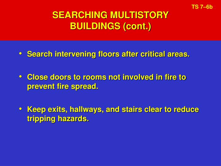 SEARCHING MULTISTORY