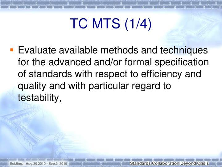 TC MTS (1/4)