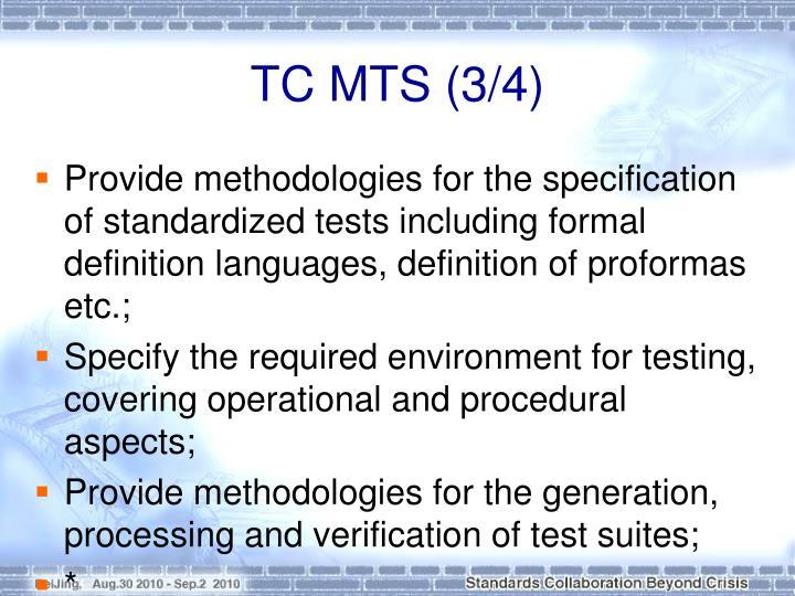 TC MTS (3/4)