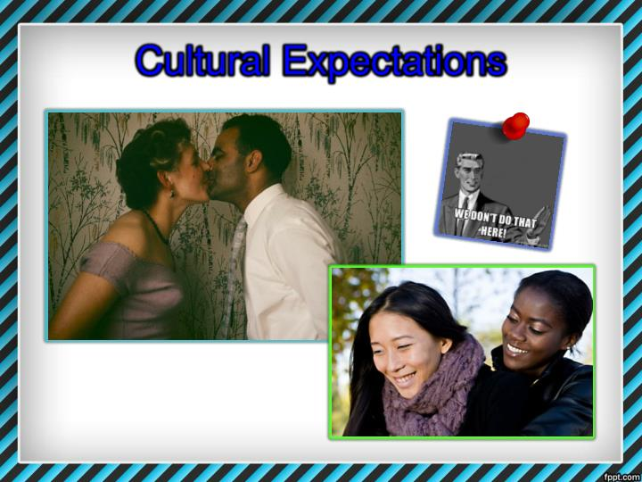 Cultural Expectations