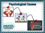 psychological causes