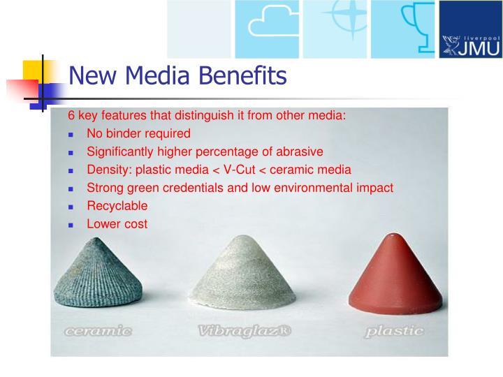 New Media Benefits