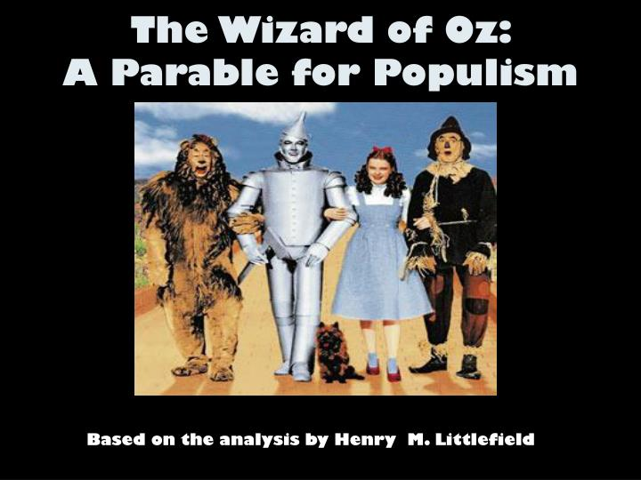 henry littlefield thesis News, commentary & analysis henry m littlefield linked the characters and the story line of the oz tale to the thesis as insane.