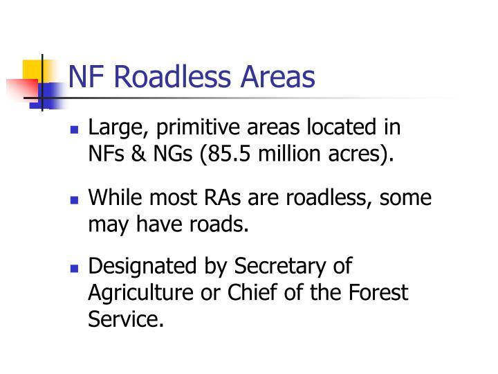 NF Roadless Areas