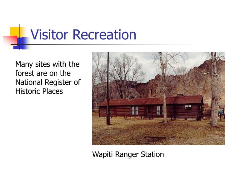 Visitor Recreation