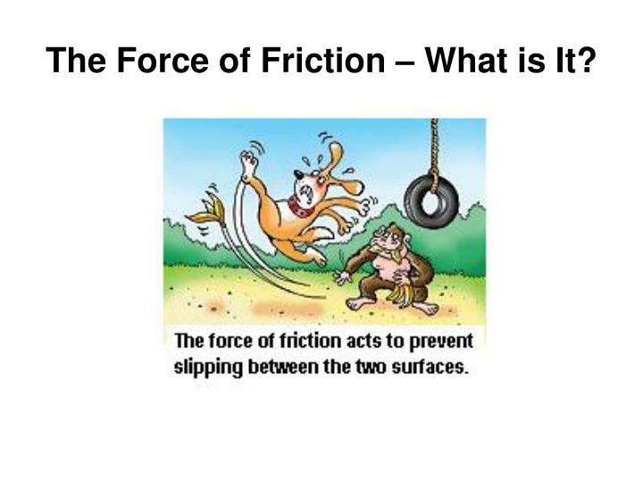 The Force of Friction – What is It?