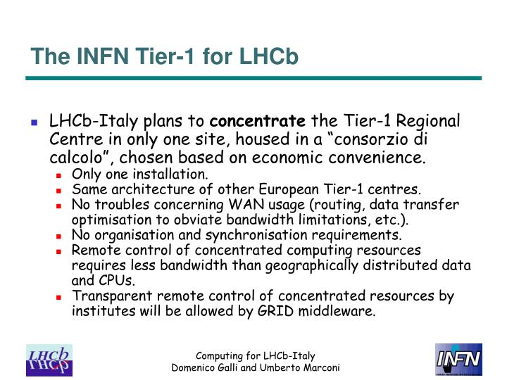 The INFN Tier-1 for LHCb