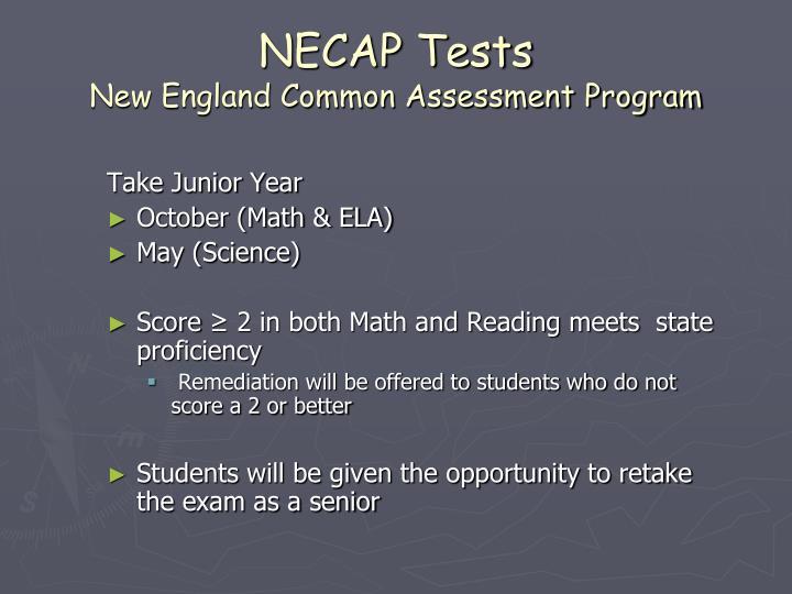 NECAP Tests