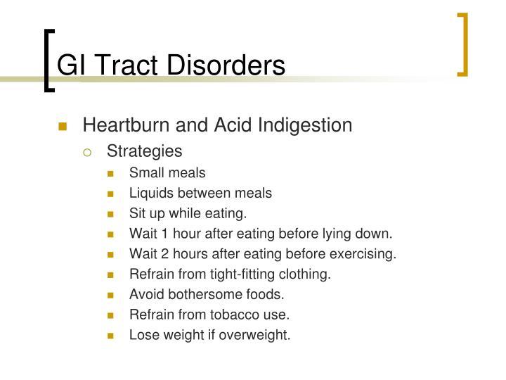 GI Tract Disorders