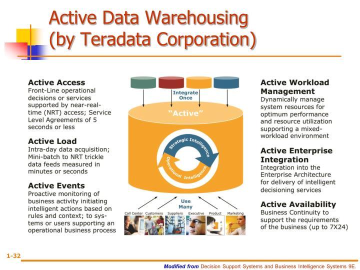 Active Data Warehousing