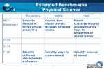 extended benchmarks physical science2