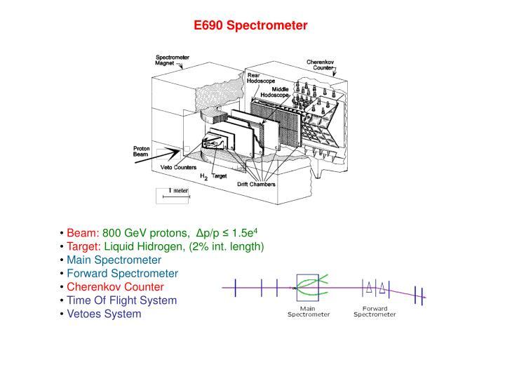 E690 Spectrometer