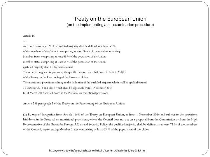 Treaty on the European Union