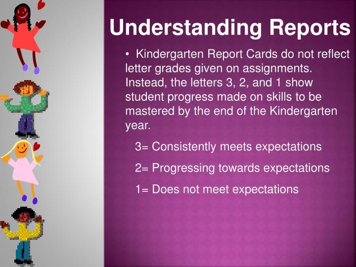 Understanding Reports