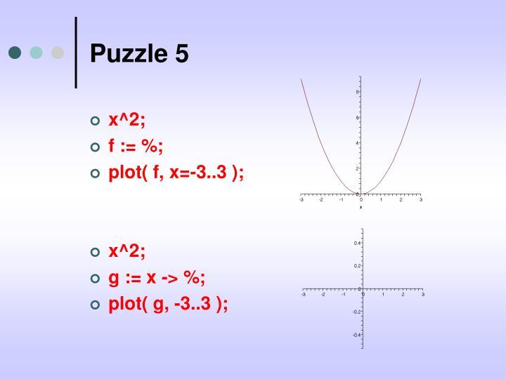 Puzzle 5