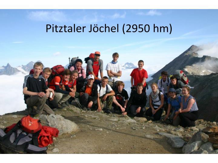 Pitztaler Jöchel (2950 hm)