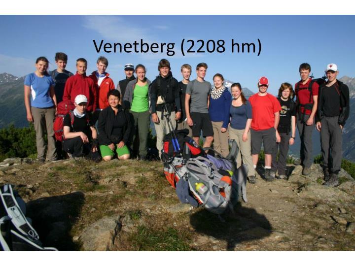 Venetberg (2208 hm)