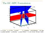 the hc mpc formulation15