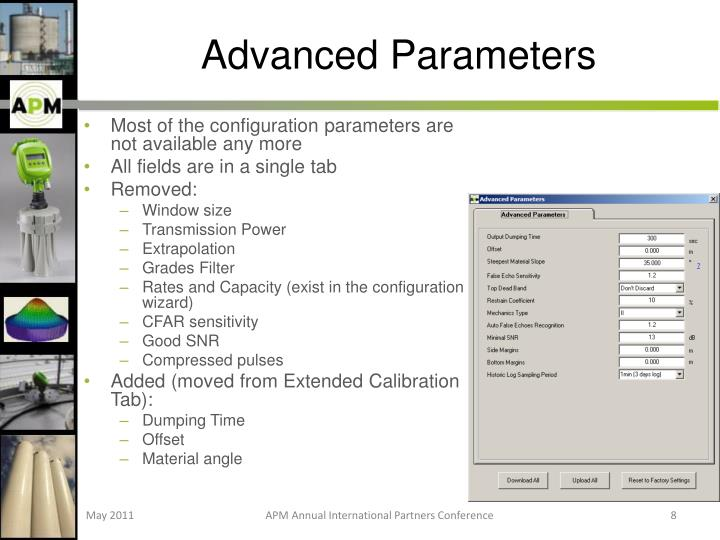 Advanced Parameters
