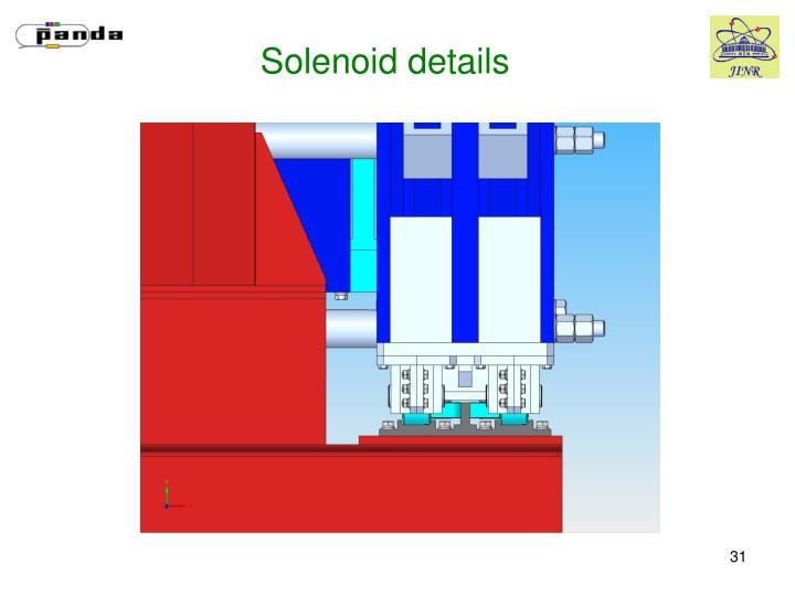 Solenoid details