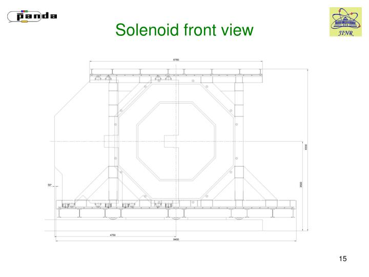 Solenoid front view