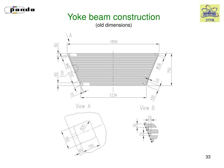 Yoke beam