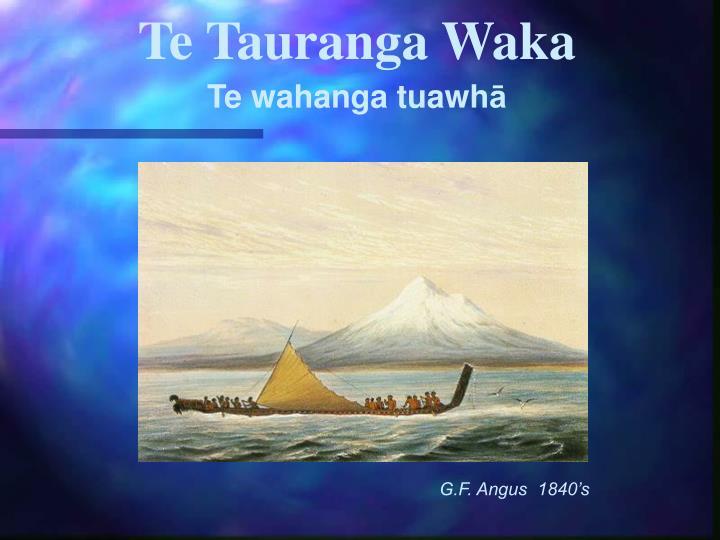 Te Tauranga Waka