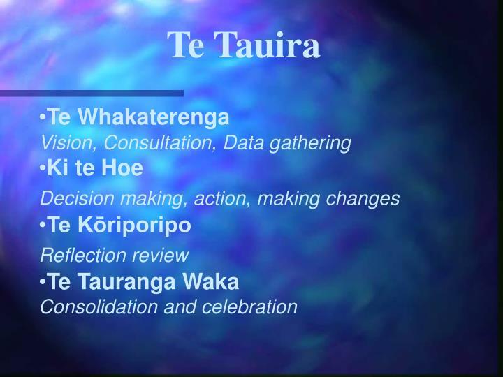 Te Tauira