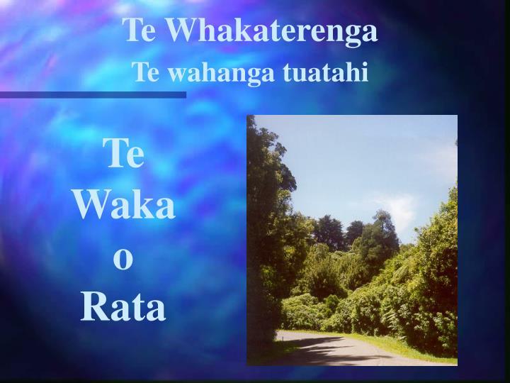 Te Whakaterenga