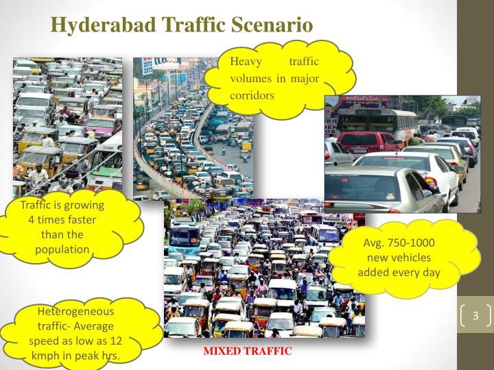 Hyderabad Traffic Scenario