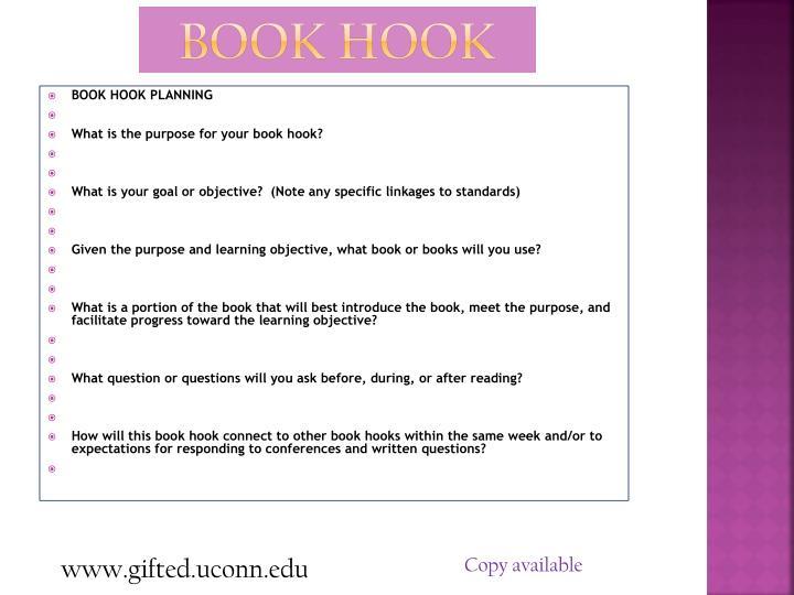 Book Hook