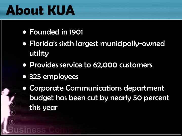 About KUA
