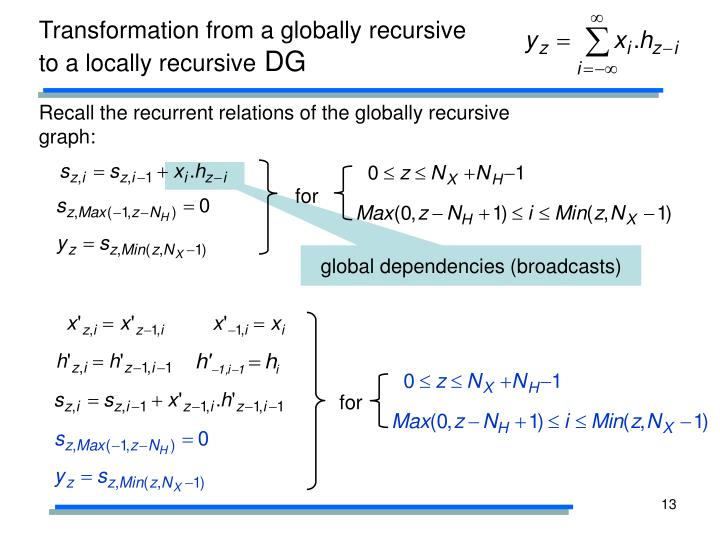 global dependencies (broadcasts)