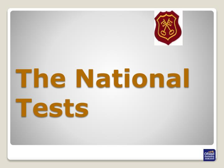 The National Tests