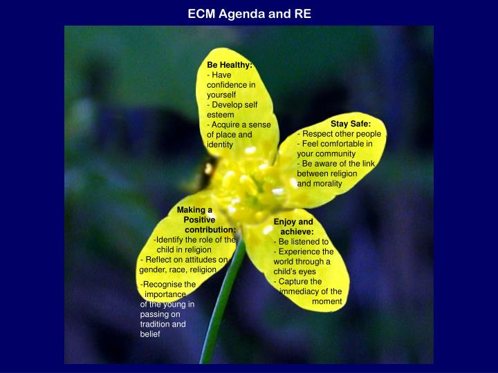 ECM Agenda and RE